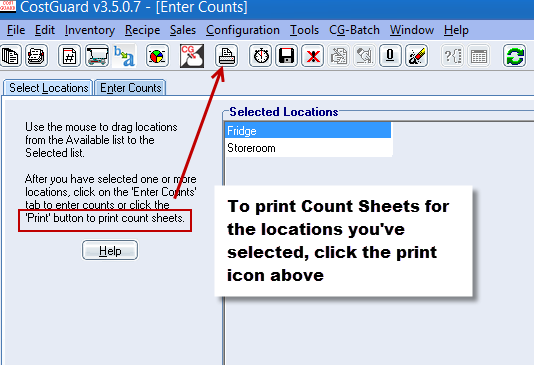 counts print sheets