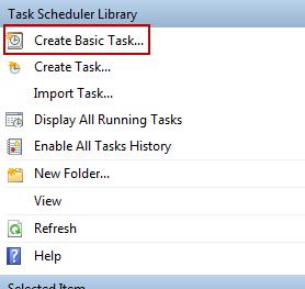 task create