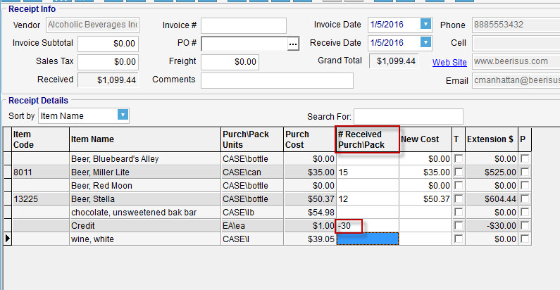 CostGuard Restaurant Software for Food Cost Control Invoices