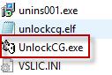 unlock cg